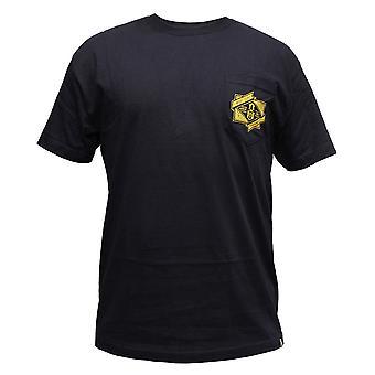 Rebel8 bolsillo camiseta Navy de la marca