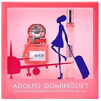 Adolfo Domínguez Ceylan Women Travel Case (Colonia 50 V + Mini 20 V)