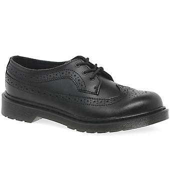 Dr. Martens Brogue Girls Senior School Shoes