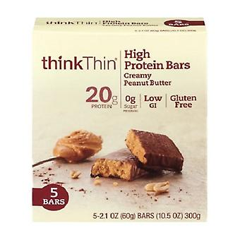 Think Thin High Protein Bars Creamy Peanut Butter