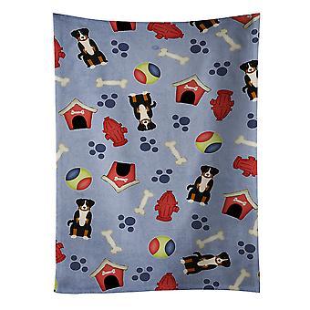 الكلب البيت جمع سينينهوند أبينزيلير منشفة المطبخ