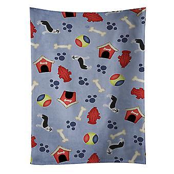 Perro casa colección Siberian Husky toalla de cocina