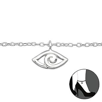 Evil Eye - 925 Sterling Silver Anklets - W27654x
