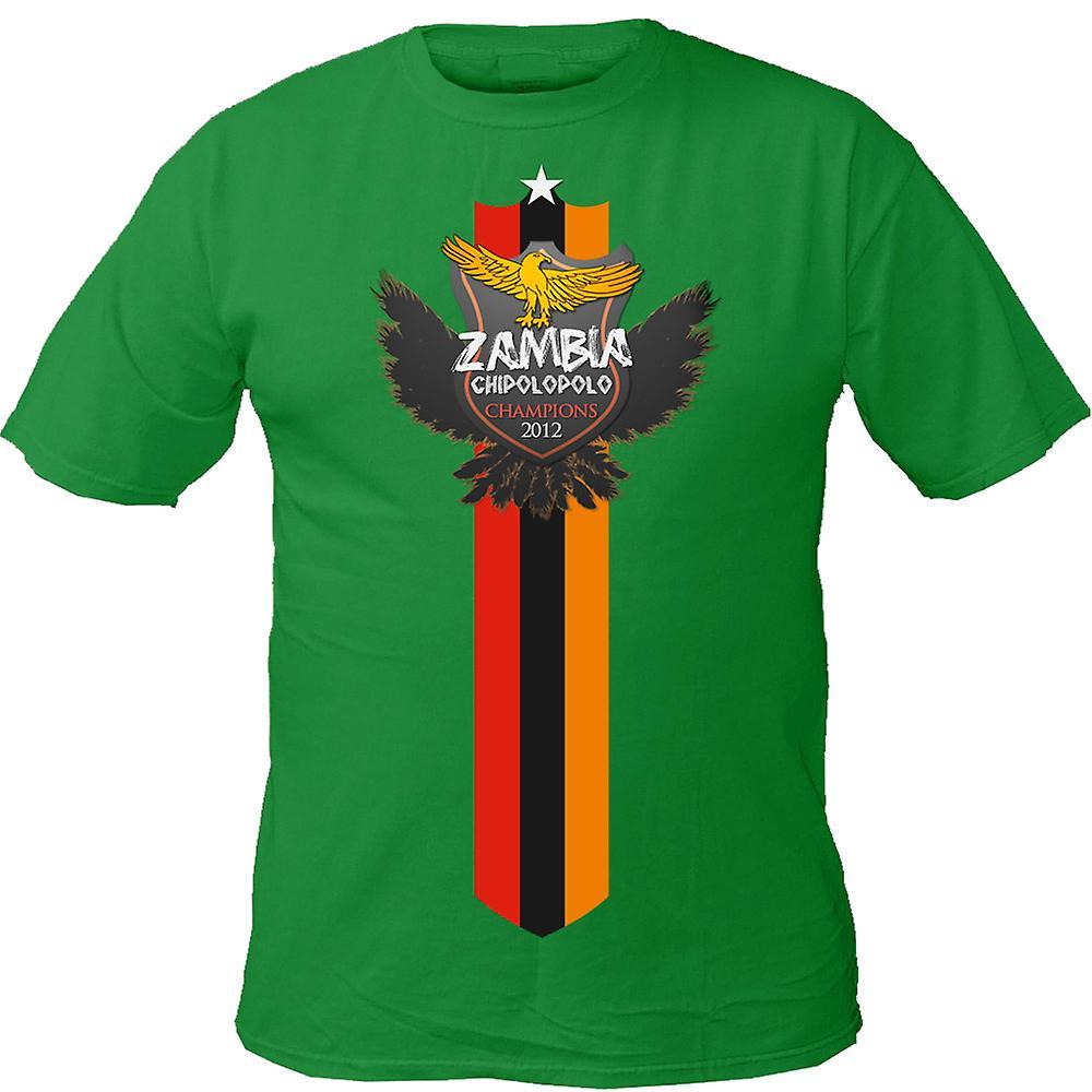 2012 Sambia Sieger T-Shirt