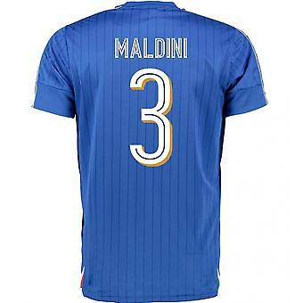 2016-2017 Italien Home Puma Shirt (Muster 3)