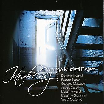 Muzietti Domingo Project - Introducing [CD] USA import