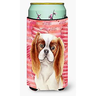 Cavalier Spaniel Love Tall Boy Beverage Insulator Hugger