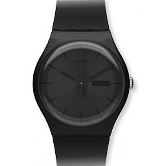 Swatch Black Rebel Herrenuhr (SUOB702)