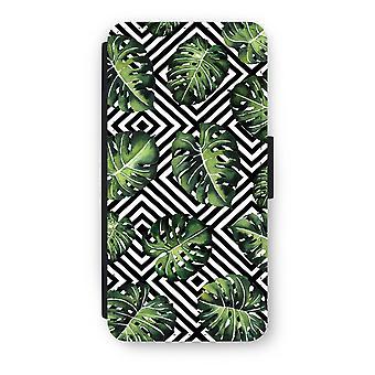 iPhone 7 Flip Case - geometriske jungle