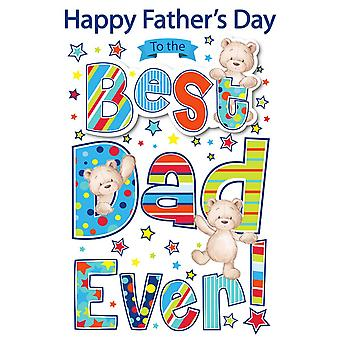 Eurowrap Fathers Day Poppet Cards