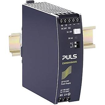 Rail mounted PSU (DIN) PULS CP10.242 24 Vdc 10 A 240 W 1 x