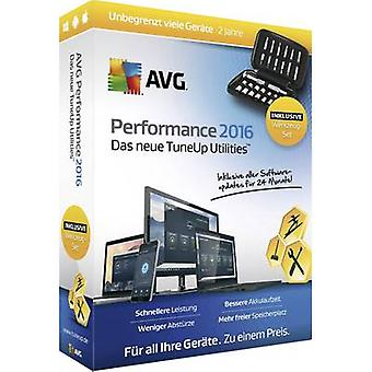 AVG Performance 2016 Sommer Edition Full version, unlimited Windows, Mac OS, iOS, Android Tuning