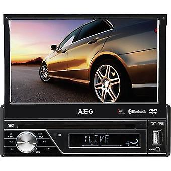AEG AR4026DVD Monitor receiver incl. remote control, Rear view camera connector, Bluetooth handsfree set