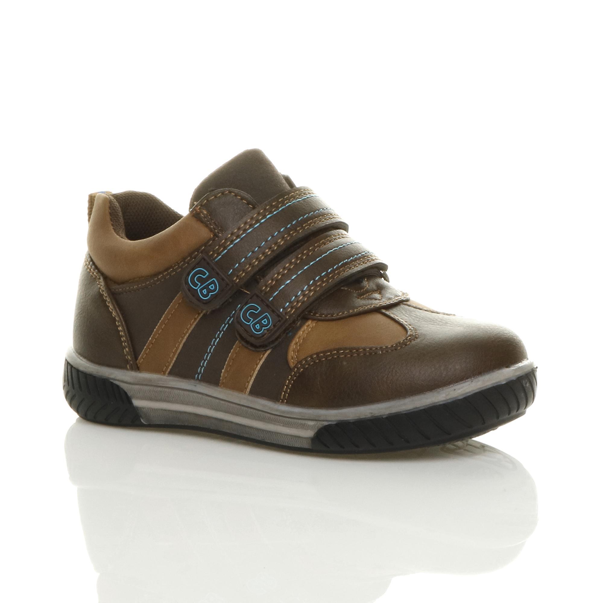 hot sale online b46eb f734f Ajvani boys adjustable strap contrast smart casual trainer shoes - c16e34 -  schlemme-zahntechnik.de