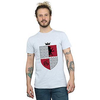 Harry Potter Herren Gryffindor Shield T-Shirt