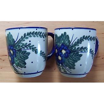 Pott, 300 ml, altura 9 cm, 47 Unikat esmalte de cerámica - mug - 1831 de BSN