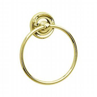Villa Brass Towel Ring V244