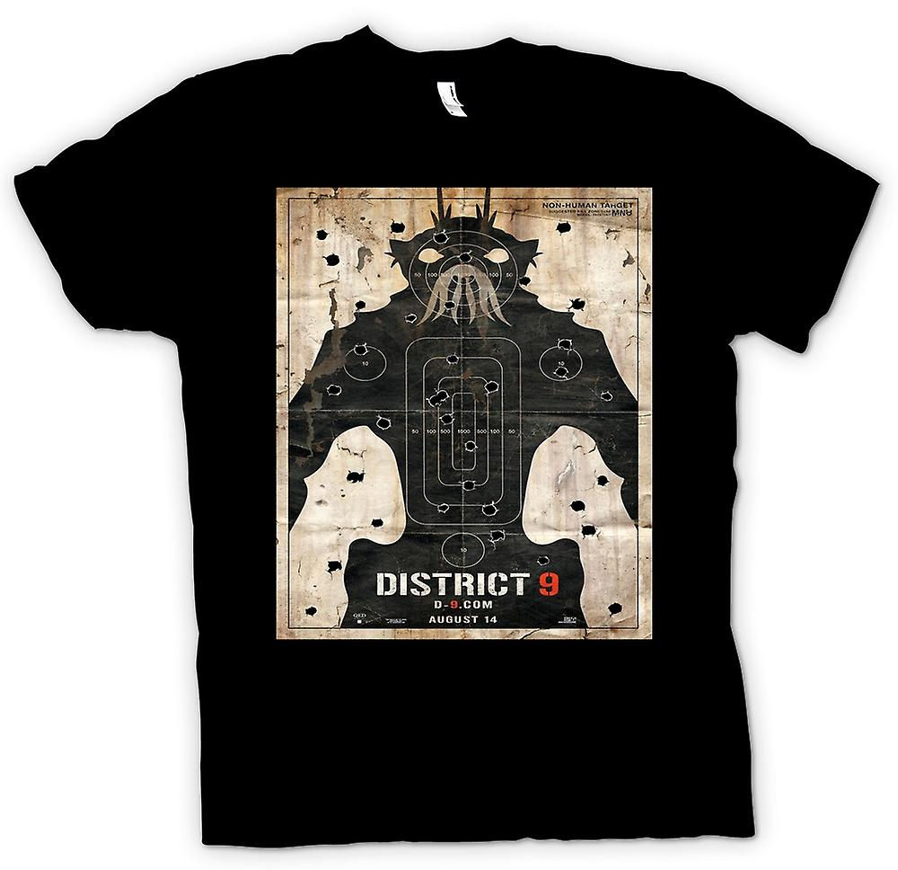 Womens T-shirt - District 9 - Alien - UFO - B film