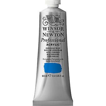 Winsor & Newton Professional Acrylic 60ml - 137 Cerulean Blue (S5)