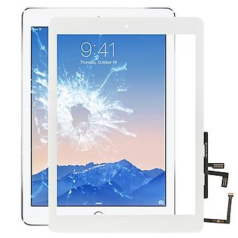 For new Apple iPad 9.7 2017 touch screen glass screen digitizer with HB + adhesive white