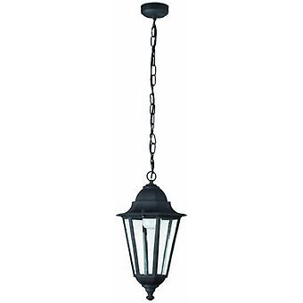 Wellindal Pendant paris 1 black 1 light e27 20 w