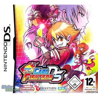 Snk Vs Capcom Card Fighters Nintendo DS Game