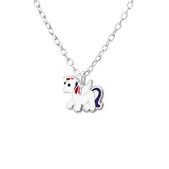 Unicorn - 925 Sterling zilveren kettingen - W35427x