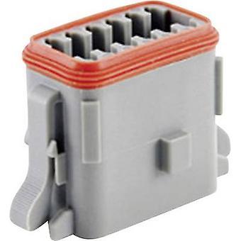 Amphenol AT06 12SA Bullet kontakten uttaget, rak serie (kontakter): på totala antalet pins: 12 1 dator