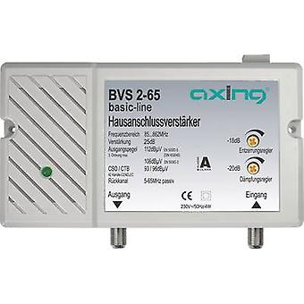 Axing BVS 2-65 Cable TV amplifier 25 dB