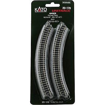 N Kato Unitrack 7078113 Curve 15 ° 216 mm