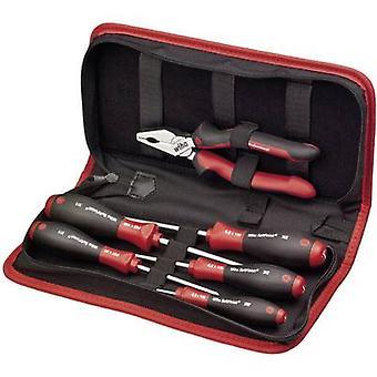 Wiha 9300019 33970 oficios personas herramienta kit con bolsa de 6 piezas