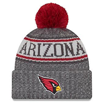 Nowa era NFL linii bocznej grafit kapelusze - Arizona Cardinals