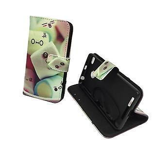 Mobile phone case pouch for mobile Xiaomi Redmi 3s logo marshmallows