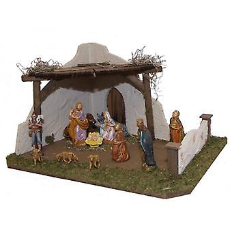 Nativity BALTHAZAR houten wieg Nativity kerst Nativity testing