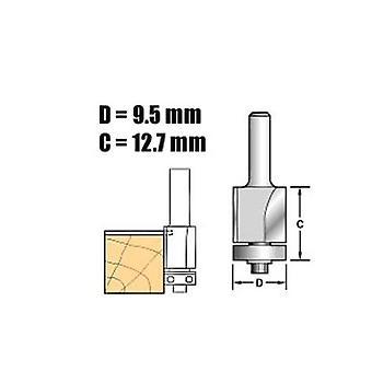 Trend C115 X 1/4 Tungsten Carbide Self Guided Trim