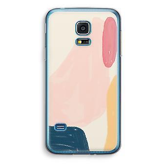 Samsung Galaxy S5 Mini Transparent Case (Soft) - Saturday Flow