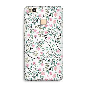 Huawei P9 Lite Full Print Case - Dainty flowers