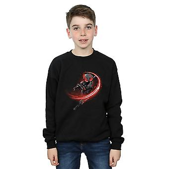 DC Comics gutter Aquaman svart Manta Flash Sweatshirt