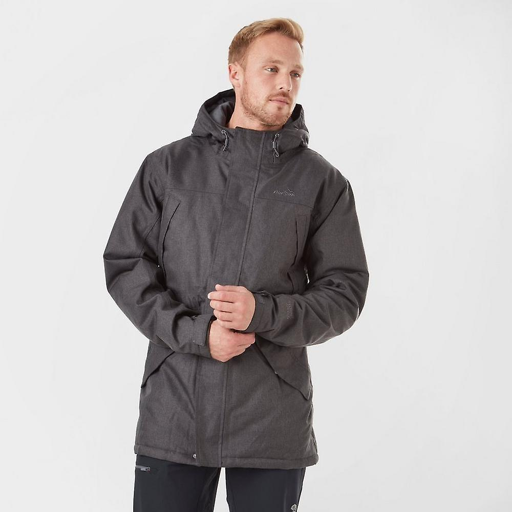 Peter Storm Men&s Texturouge Insulated Jacket Mid-gris