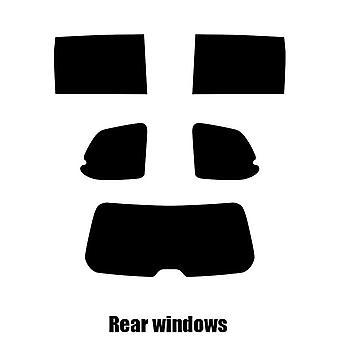 Pre corte tintado - Kia Carnival - 2007 - 2016 windows posterior