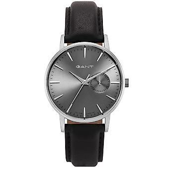 GANT ladies watch with leather bracelet silver