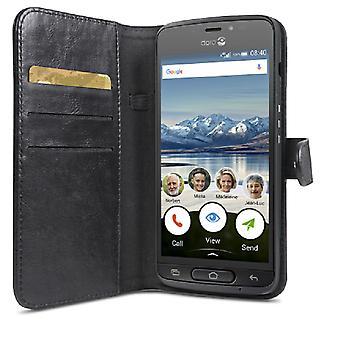 Doro Wallet Case 8040 Black wallet pouch