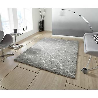 Koninklijke nomadische 5413 Grey Room rechthoek tapijten Plain/bijna gewoon tapijten