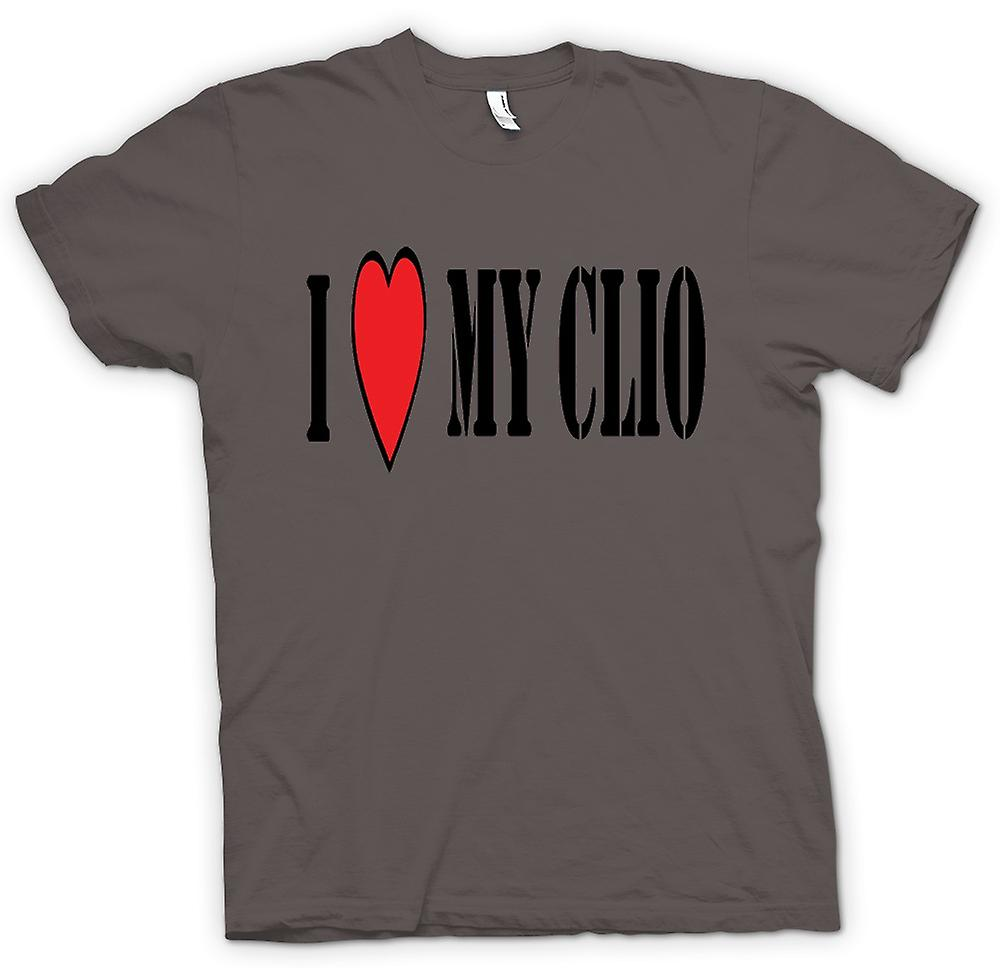 Mens T-shirt - j'aime ma Clio - Fun voiture
