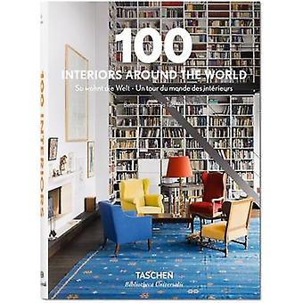 100 Interiors Around the World - 9783836557269 Book