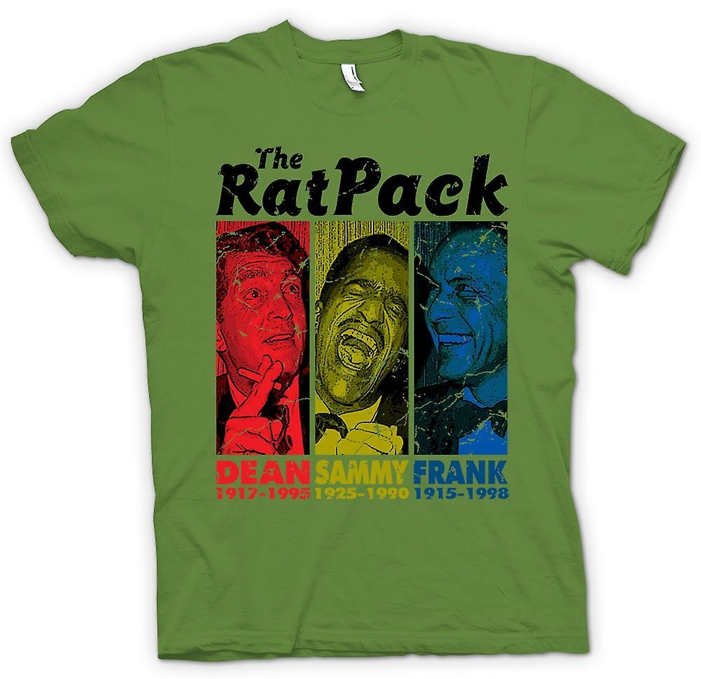 Heren T-shirt - Rat Pack - Dean Martin - Sammy - Frank Sinatra