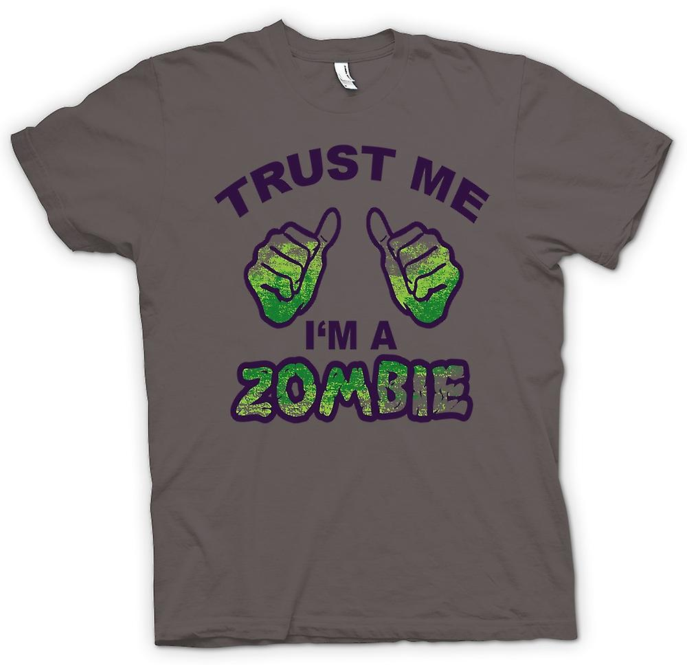 Womens T-shirt - Trust Me Im A Zombie - Funny
