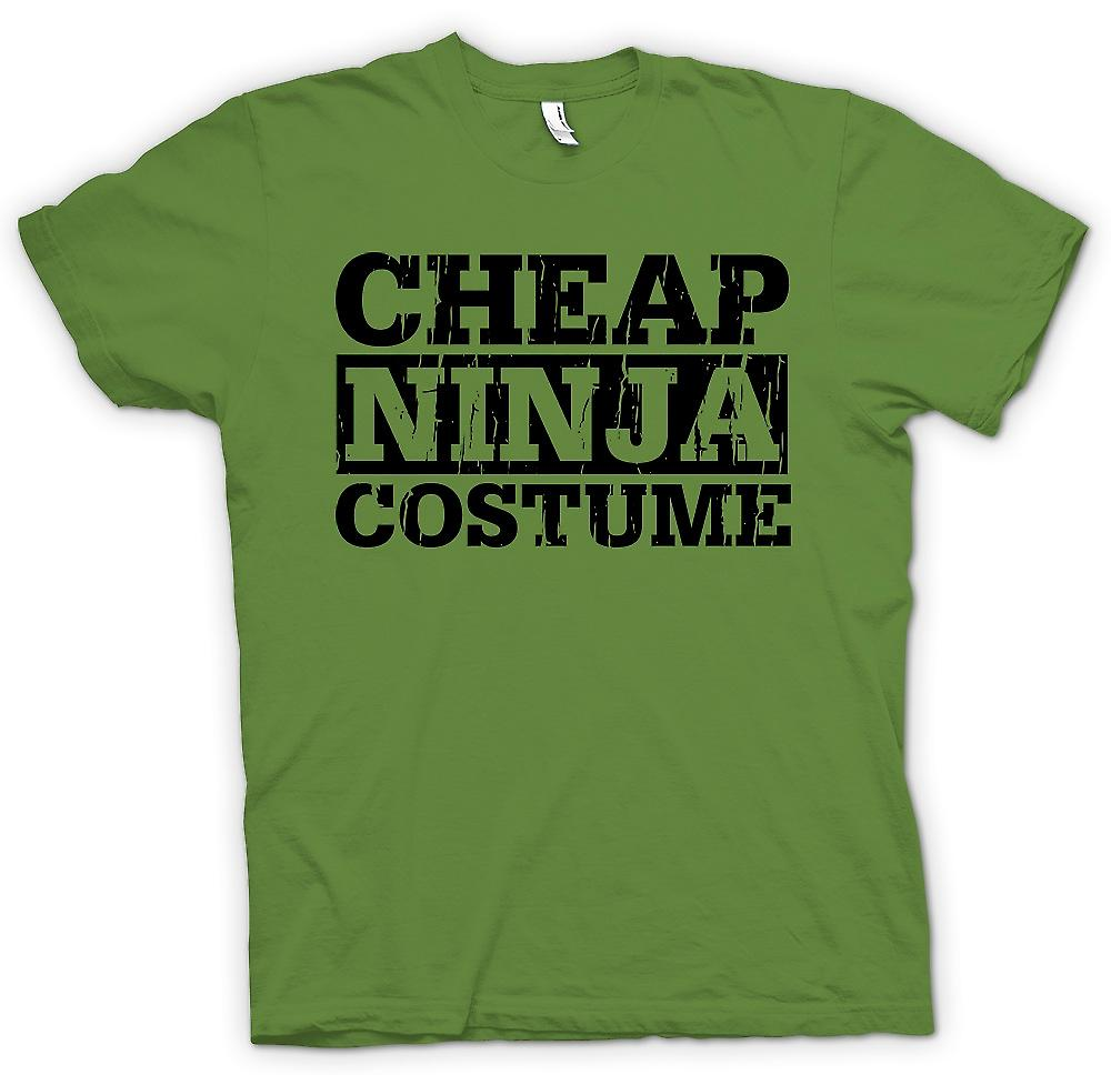 Mens t-shirt - Cheap Ninja Costume - divertente