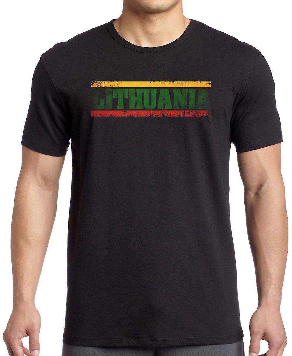 Lithuania Lithuanian Flag - Words Kids T Shirt