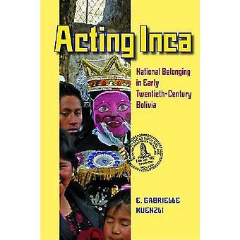 Par intérim Inca - appartenance nationale au début du XXe siècle Bolivie par